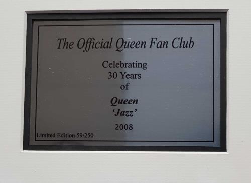 Queen Jazz memorabilia UK QUEMMJA692052