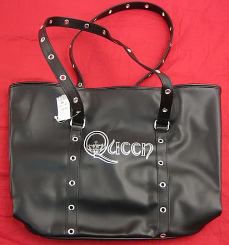 Queen Leather Effect Bag memorabilia US QUEMMLE352366