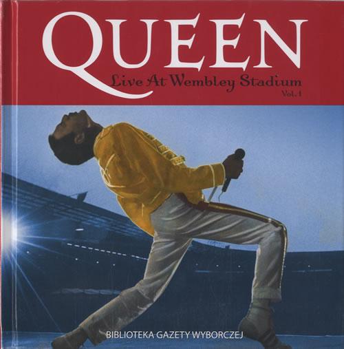 Queen Live At Wembley Stadium Vol. 1 - Sealed CD album (CDLP) Polish QUECDLI472528