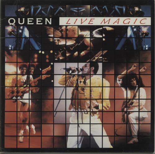 Queen Live Magic - EX vinyl LP album (LP record) UK QUELPLI579372