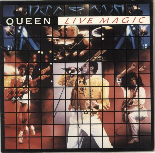 Queen Live Magic vinyl LP album (LP record) UK QUELPLI159591