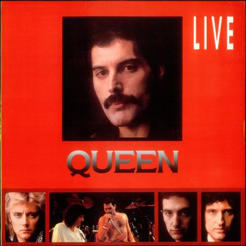 Queen Live vinyl LP album (LP record) Korean QUELPLI539053