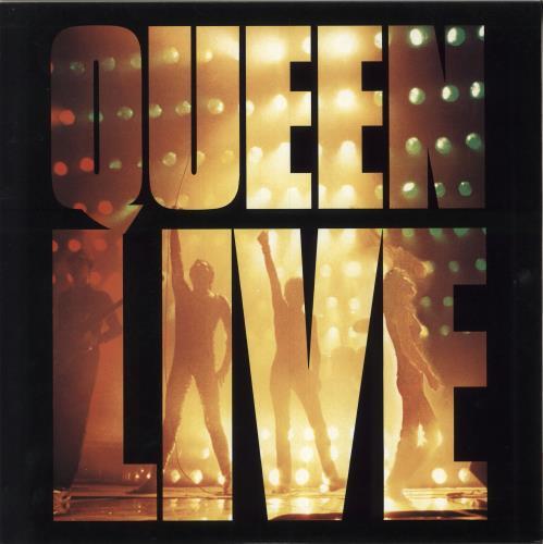 Queen Live vinyl LP album (LP record) Japanese QUELPLI749279