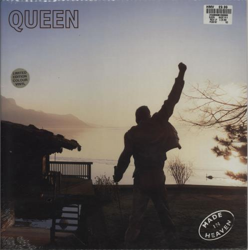 Queen Made In Heaven - Cream Vinyl - Sealed vinyl LP album (LP record) UK QUELPMA690551