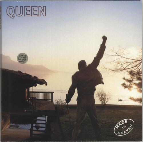 Queen Made In Heaven - Cream Vinyl vinyl LP album (LP record) UK QUELPMA55806