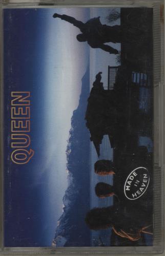 Queen Made In Heaven cassette album UK QUECLMA224088