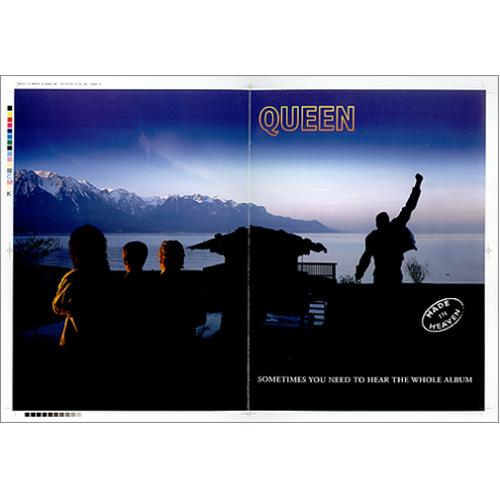 Queen Made In Heaven artwork UK QUEARMA425319