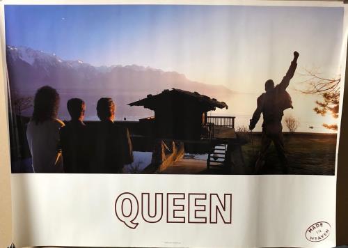 Queen Made In Heaven poster UK QUEPOMA723417