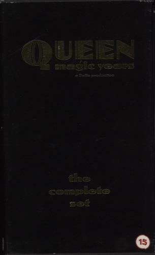 Queen Magic Years - The Complete Set video (VHS or PAL or NTSC) UK QUEVIMA142564