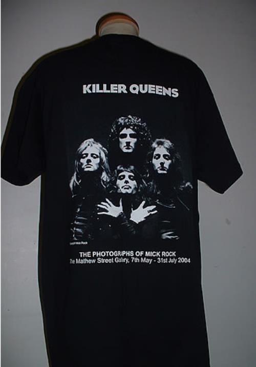 bc1cc420694 Queen Mick Rock Killer Queens t-shirt UK QUETSMI328623