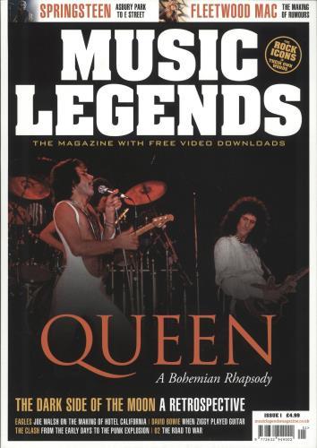 Queen Music Legends magazine UK QUEMAMU736738