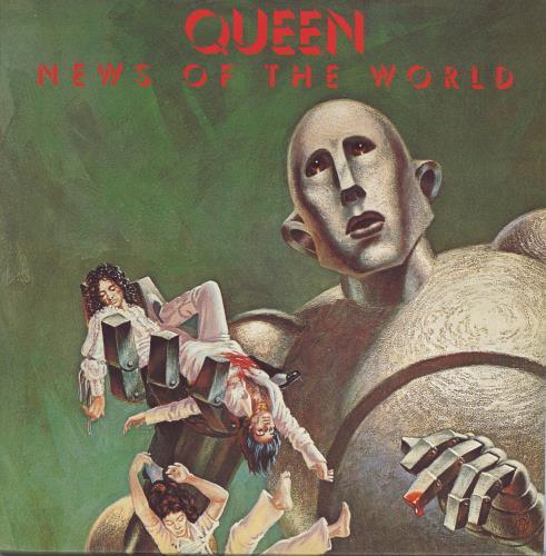 Queen News Of The World - 180gram Vinyl vinyl LP album (LP record) UK QUELPNE775197