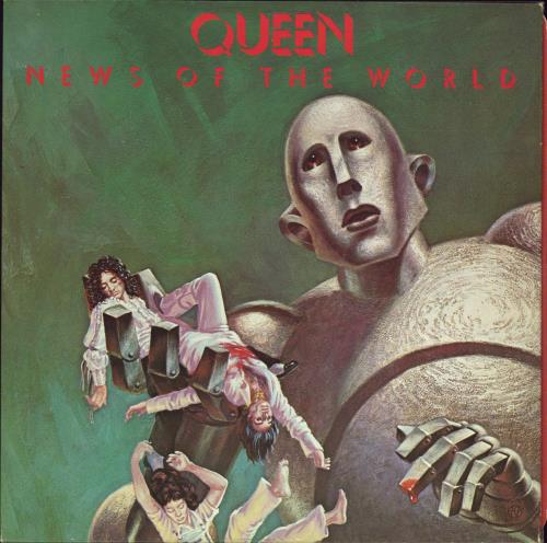 Queen News Of The World - 1st - EX vinyl LP album (LP record) UK QUELPNE575451