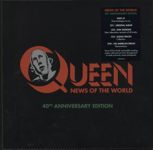 Queen News Of The World: 40th Anniversary Edition - Sealed box set UK QUEBXNE686969