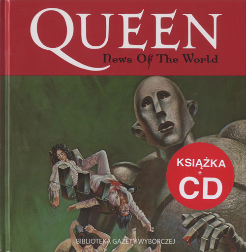 Queen News Of The World CD album (CDLP) Polish QUECDNE463639
