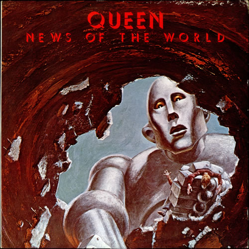 Queen News Of The World Korean Vinyl Lp Album Lp Record