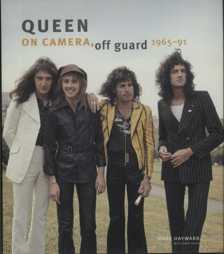 Queen On Camera, Off Guard 1965-91 book UK QUEBKON672901
