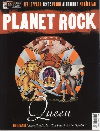 Queen Planet Rock magazine UK QUEMAPL736241
