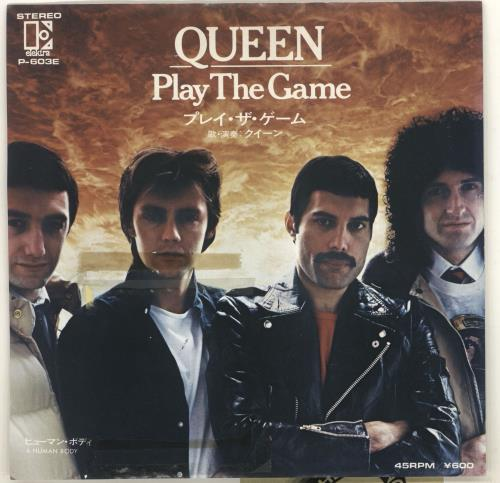"Queen Play The Game - EX 7"" vinyl single (7 inch record) Japanese QUE07PL712948"