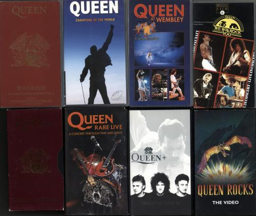 Queen Quantity Of Ten Videos video (VHS or PAL or NTSC) UK QUEVIQU674336