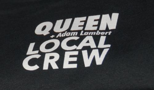Queen Queen + Adam Lambert Tour 2017 + Rare Set-List memorabilia UK QUEMMQU689283