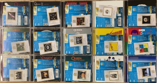 Queen Queen 40 - Complete Set SHM-CD Edition + Trading Cards CD Album Box Set Japanese QUEDXQU768783