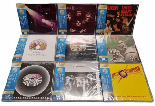 Queen Queen 50 - Limited Edtion SHM-CD Bundle - HMV Japan SHM CD Japanese QUEHMQU770696