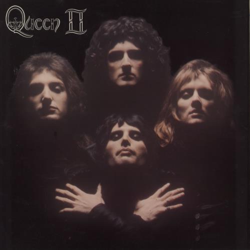 Queen Queen II - 1st Transitional + lyric inner vinyl LP album (LP record) UK QUELPQU756389