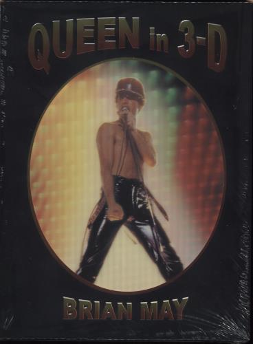 Queen Queen in 3-D [3D Stereoscopic Book] - Signed book UK QUEBKQU737772