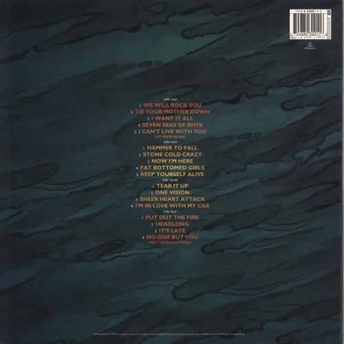 Queen Queen Rocks - 2nd 2-LP vinyl record set (Double Album) UK QUE2LQU672119