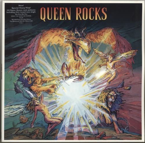Queen Queen Rocks Uk 2 Lp Vinyl Record Set Double Album