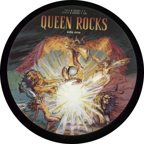 Queen Queen Rocks 2-LP vinyl record set (Double Album) UK QUE2LQU97231