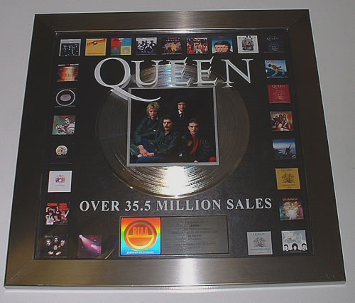 Queen Queen award disc US QUEAWQU333593