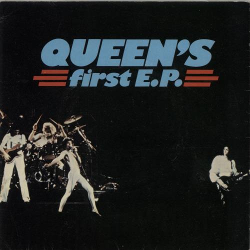 "Queen Queen's First EP - 4pr - EX 7"" vinyl single (7 inch record) UK QUE07QU555005"