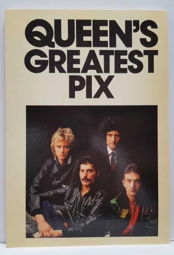 Queen Queen's Greatest Pix - New Old Stock! book UK QUEBKQU655983
