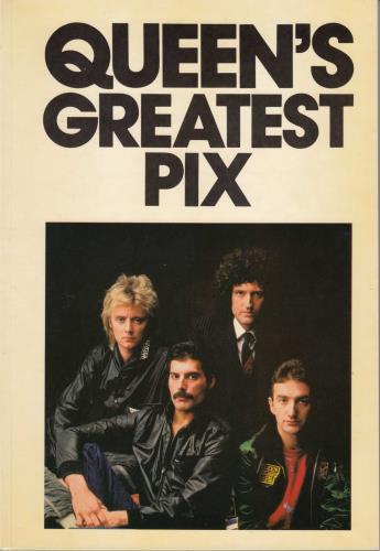 Queen Queen's Greatest Pix book UK QUEBKQU135297