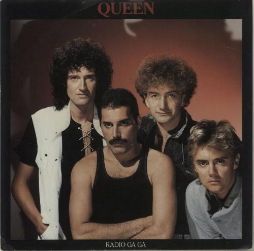 "Queen Radio Ga Ga - 4pr 7"" vinyl single (7 inch record) UK QUE07RA685609"