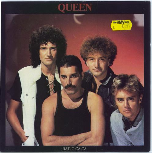 "Queen Radio Ga Ga - Sold 7"" vinyl single (7 inch record) UK QUE07RA686792"