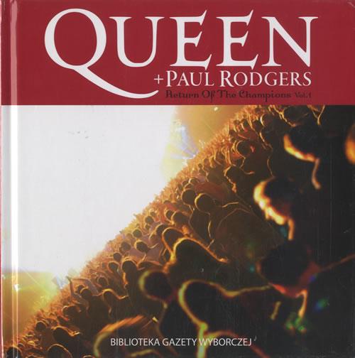 Queen Return Of The Champions Vol.1 CD album (CDLP) Polish QUECDRE472532