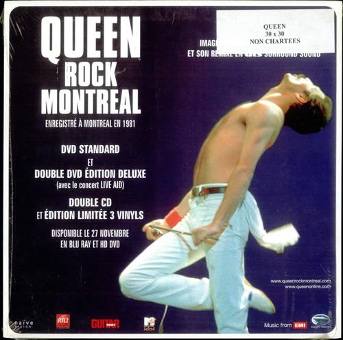 Queen Rock Montreal - Magnetic Display memorabilia French QUEMMRO529719