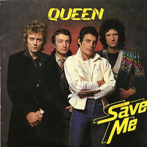 """Queen Save Me 7"""" vinyl single (7 inch record) Brazilian QUE07SA286494"""