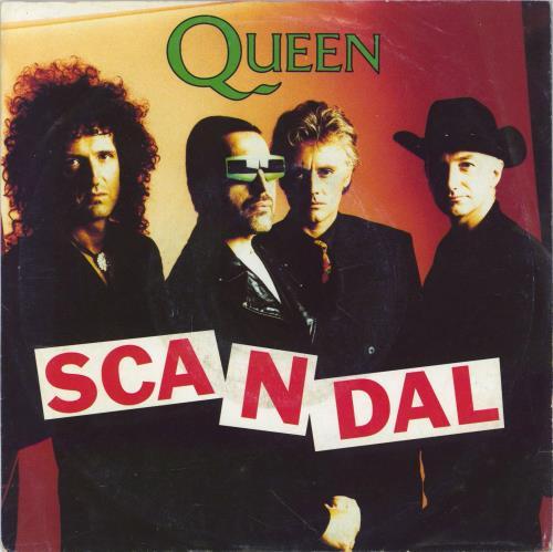 "Queen Scandal - Wide + P/S 7"" vinyl single (7 inch record) German QUE07SC772332"