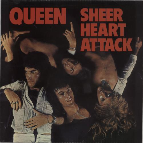 Queen Sheer Heart Attack - 1st + Inner - EX vinyl LP album (LP record) UK QUELPSH592396