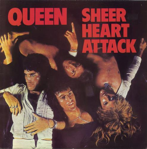 Queen Sheer Heart Attack - 80s vinyl LP album (LP record) UK QUELPSH657995