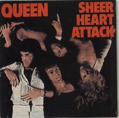 Queen Sheer Heart Attack vinyl LP album (LP record) Japanese QUELPSH447357