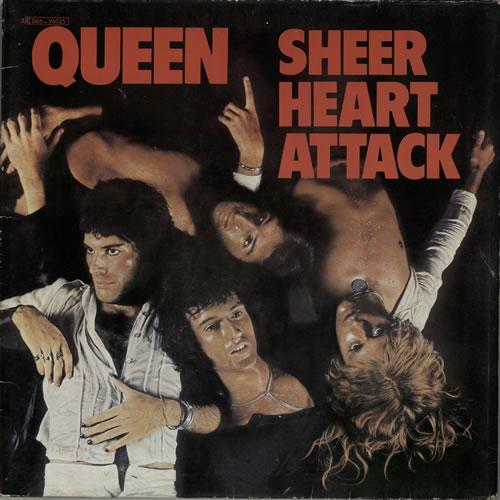 Queen Sheer Heart Attack vinyl LP album (LP record) French QUELPSH576660