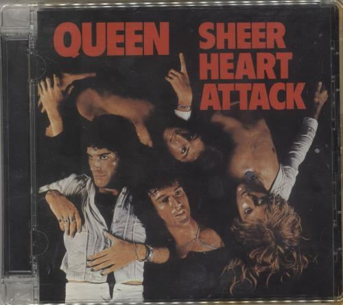 Queen Sheer Heart Attack 2 CD album set (Double CD) UK QUE2CSH724455
