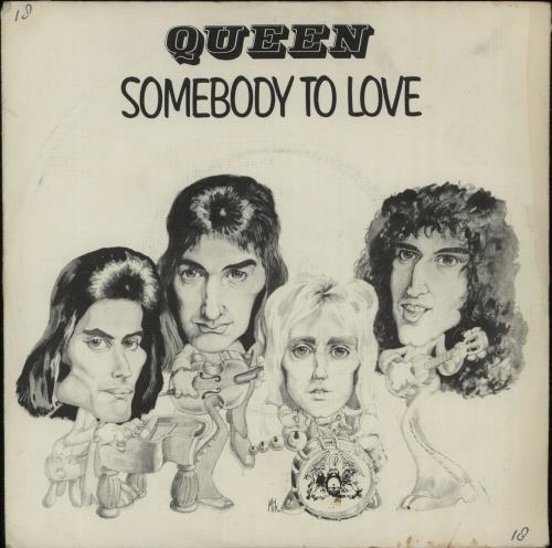 "Queen Somebody To Love + P/S - EX 7"" vinyl single (7 inch record) Dutch QUE07SO672995"