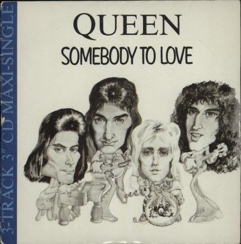 """Queen Somebody To Love 3"""" CD single (CD3) UK QUEC3SO11004"""