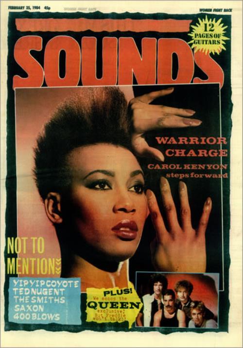 Queen Sounds magazine UK QUEMASO451328